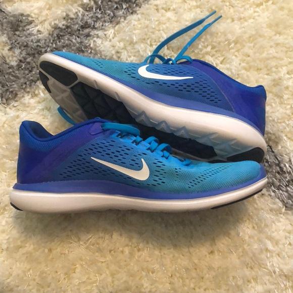 Nike Shoes   Nike Ombr Blue Flex Run